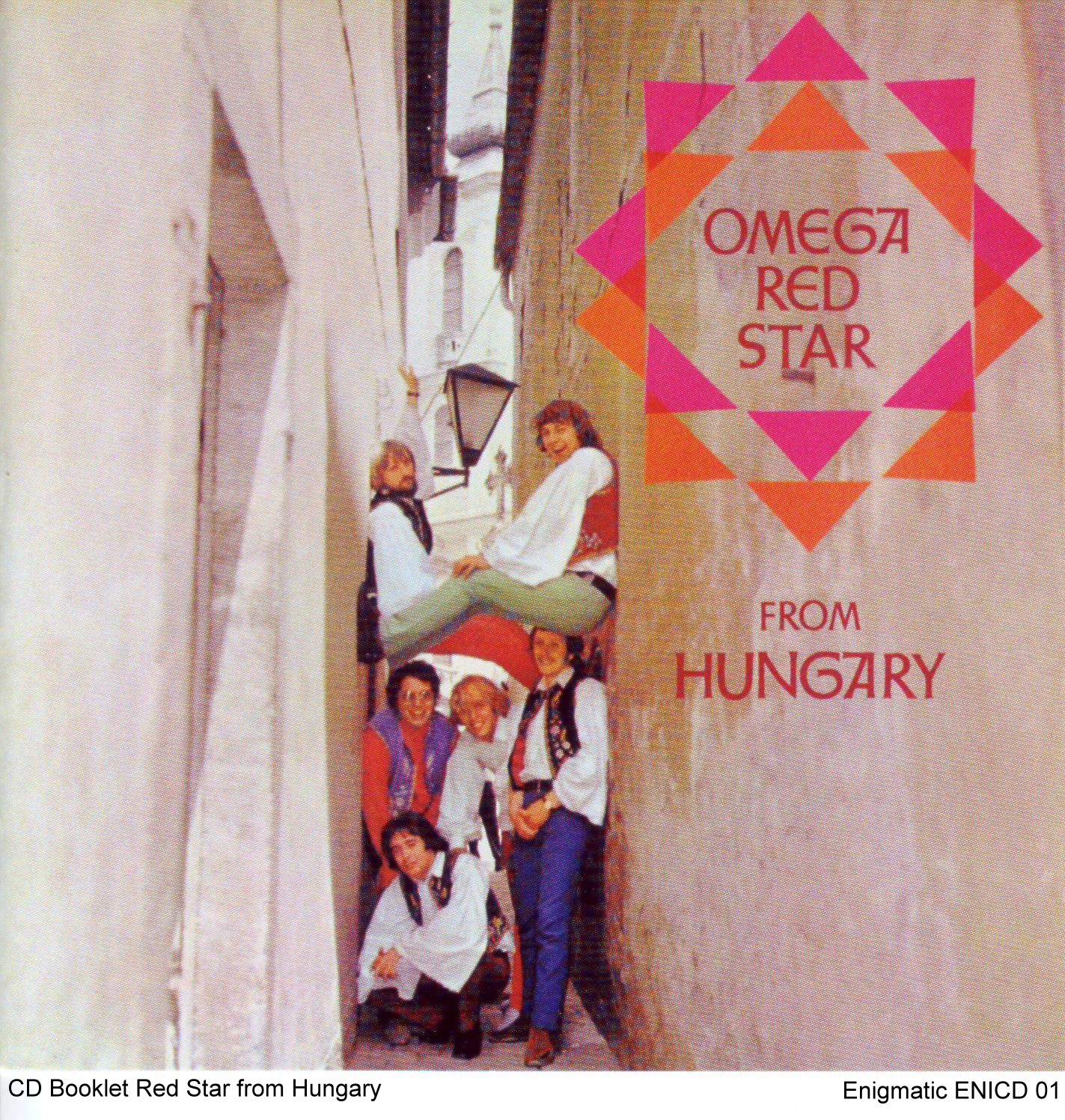 "Booklet ""Omega - Red Star From Hungary"""